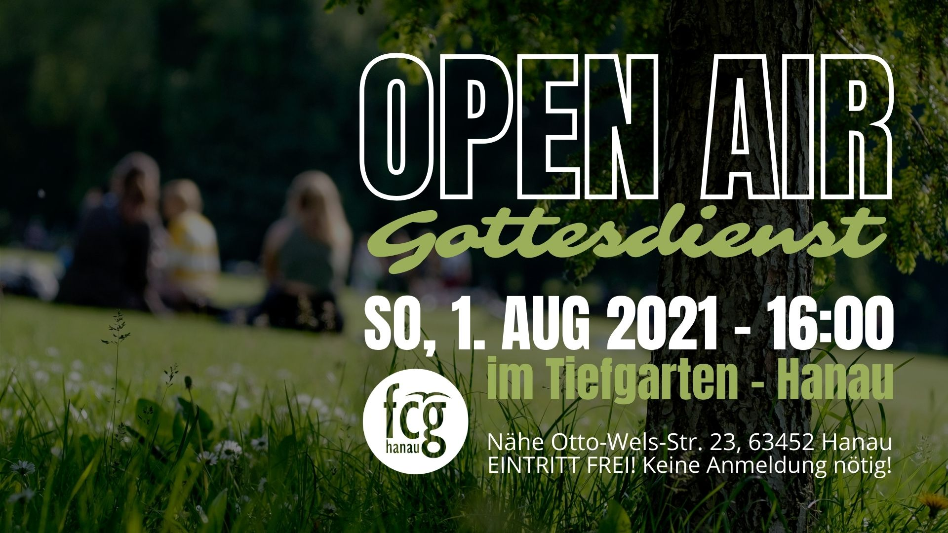 """Featured image for """"Open Air Gottesdienst – keine Anmeldung nötig!"""""""